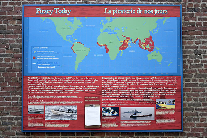 Piracy today: map