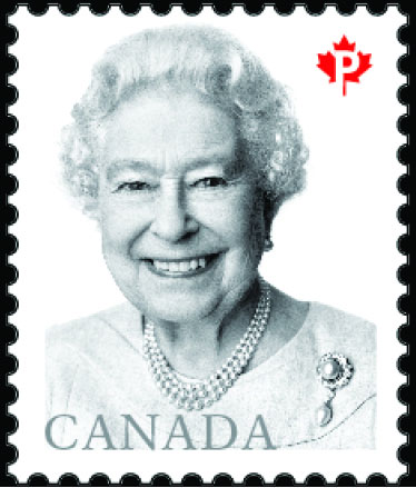 Queen Elizabeth II 2016 definitive postage stamp